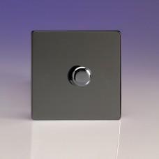 Szimpla VPRO forgógombos  fényerőszabályzó kapcsoló iridium