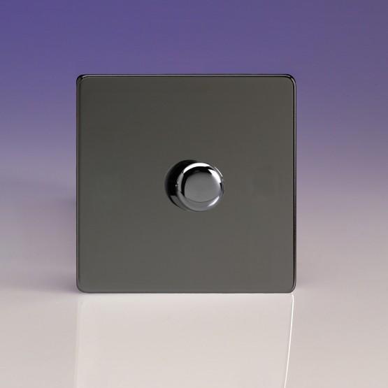 Szimpla VCom 400 W forgógombos fényerőszabályzó kapcsoló iridium
