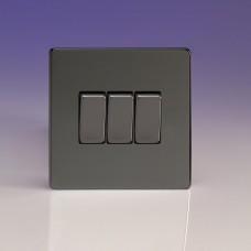 Tripla váltó/egysarkú billenőkapcsoló iridium