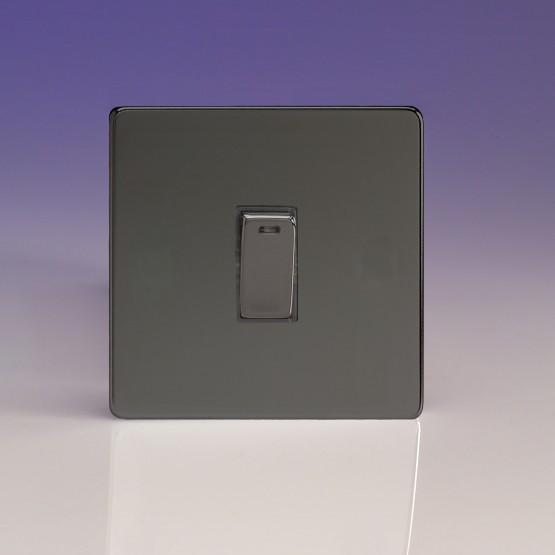 Szimpla egysarkú  kétpólusú 20 Amp billenőkapcsoló iridium