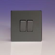 Dupla váltó/egysarkú billenőkapcsoló iridium