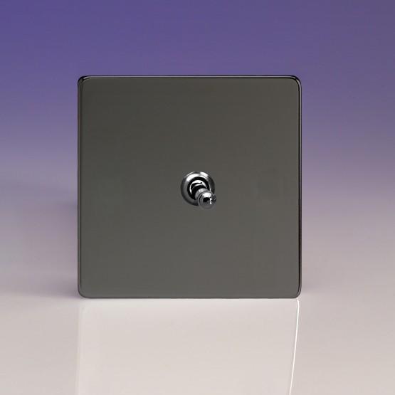 Szimpla váltó/egysarkú karos kapcsoló  iridium