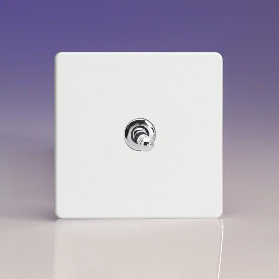 Szimpla váltó/egysarkú karos fehér műanyag